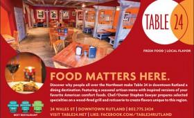 Advertising | Table 24 Restaurant