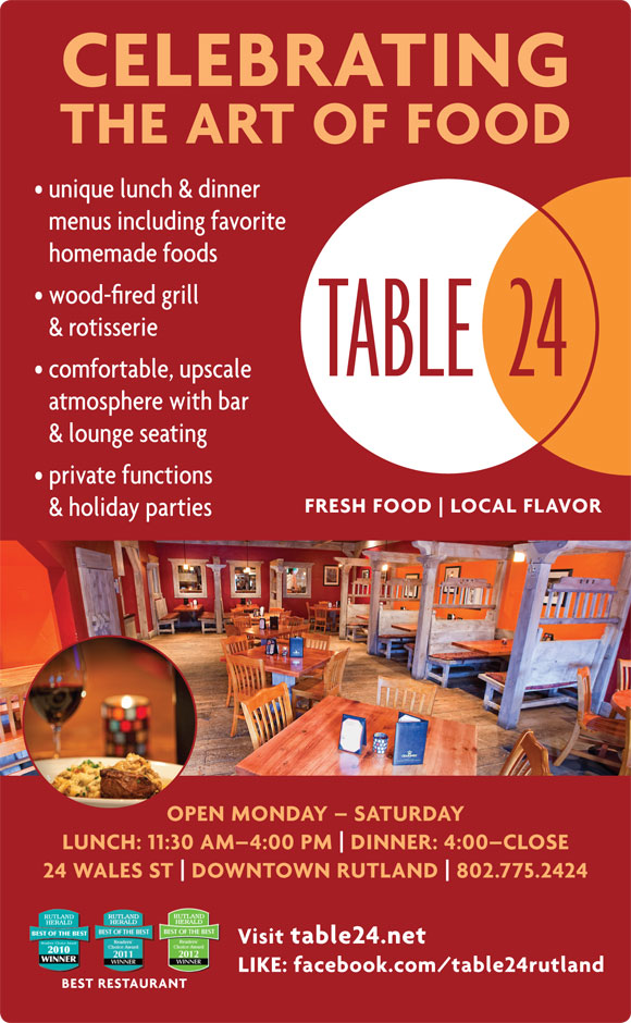 Vermont Website Design Book Design For SelfPublishing LMW - Restaurant table advertising