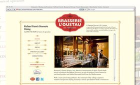 Websites | Brasserie L'Oustau