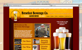 Websites | Brewfest Beverage Company