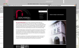 Websites | Don Hirsch Studio