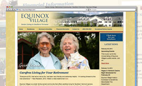 Websites | Equinox Village