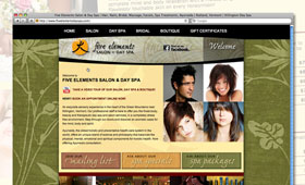 Websites | Five Elements Salon