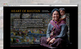 Websites | Heart of Bhutan