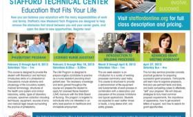 Advertising | Stafford Technical Center