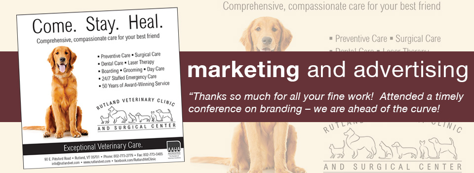 Advertising | Rutland Veterinary Clinic