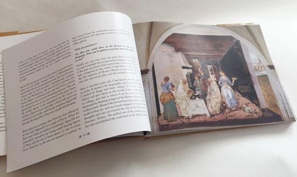Piero Affair Book Design Interior