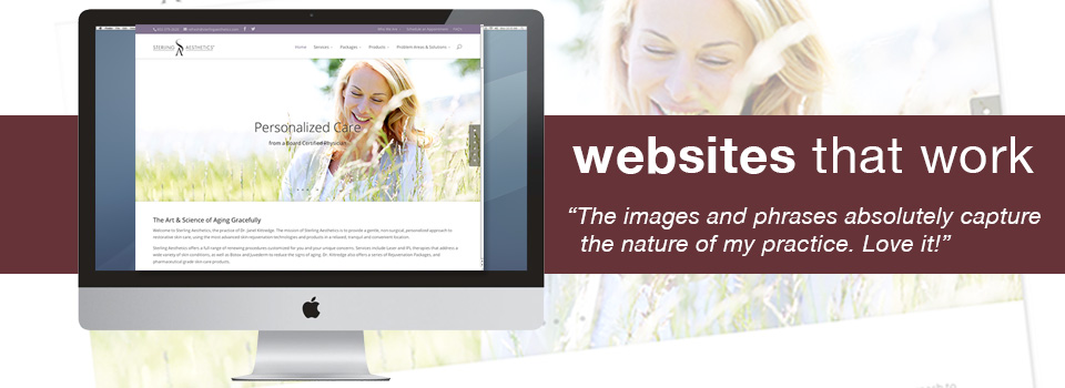 Websites | Sterling Aesthetics