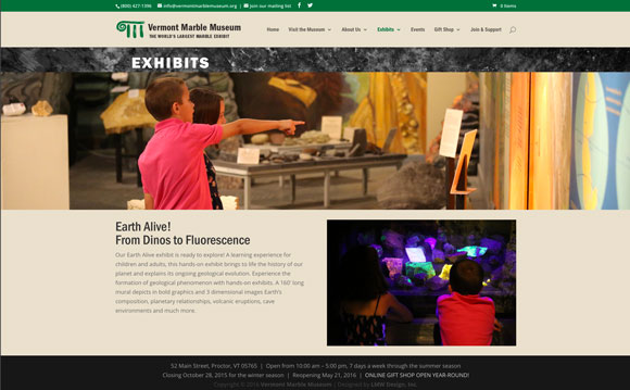 vermont marble museum exhibits
