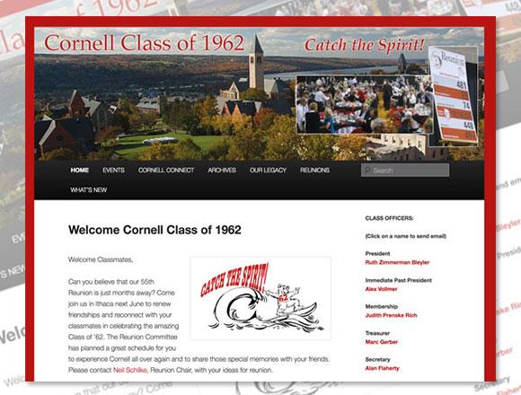 Cornell Class of 62 Homepage