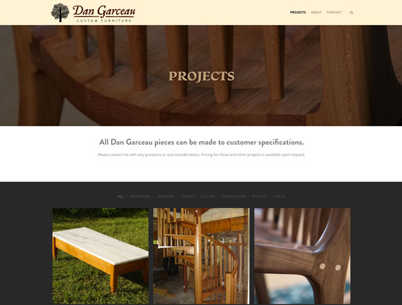 Dan Garceau Projects Page