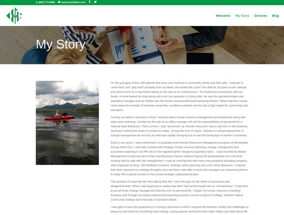 Ellis HR My Story Page
