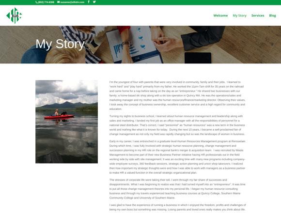 Ellis HR My Story Page