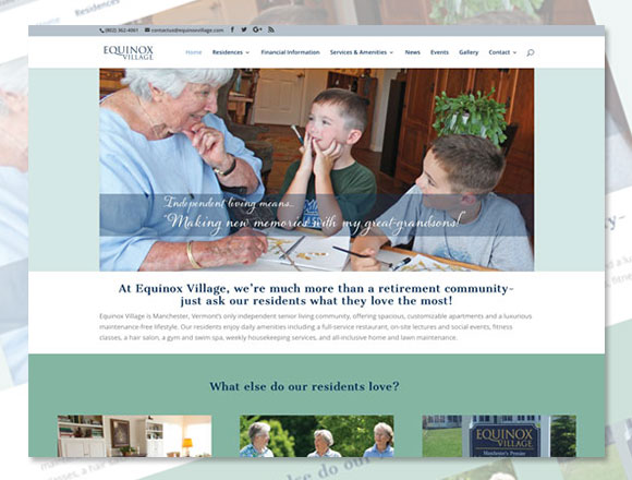 Equniox Village Homepage
