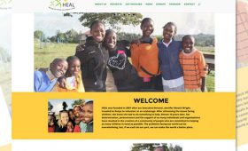 Websites | HEAL Raising Our World Foundation