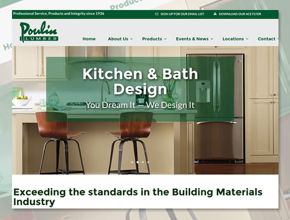 Poulin Lumber Home Page