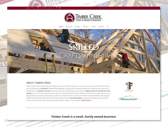 Timber Creek Home Page