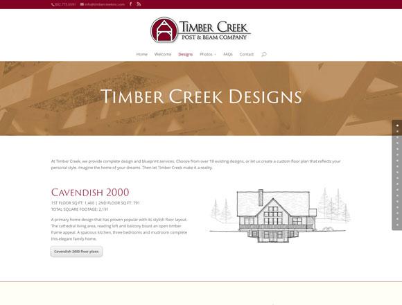 Timber Creek Designs Page